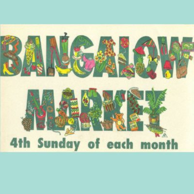 Bangalow Monthly Market - Logo