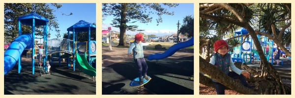 Main Beach Playground, Byron Bay