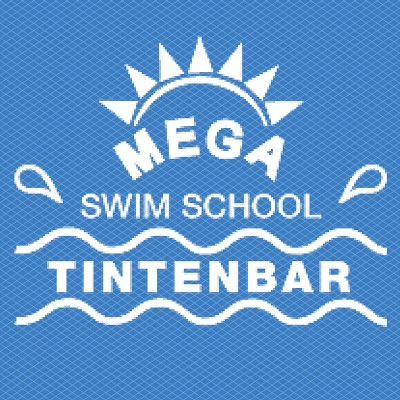 Mega Swim School Logo - Square