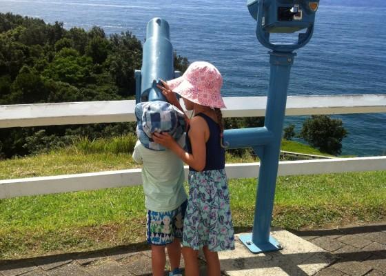 Cape Byron Lighthouse - telescope