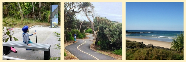 Sharpes to Shelly Beach Pathway