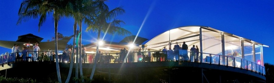Byron Bay Golf Club Deck at Night