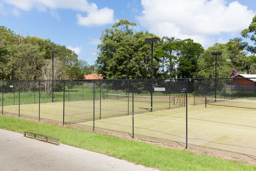 Beech Drive Sportsfields - Tennis Courts