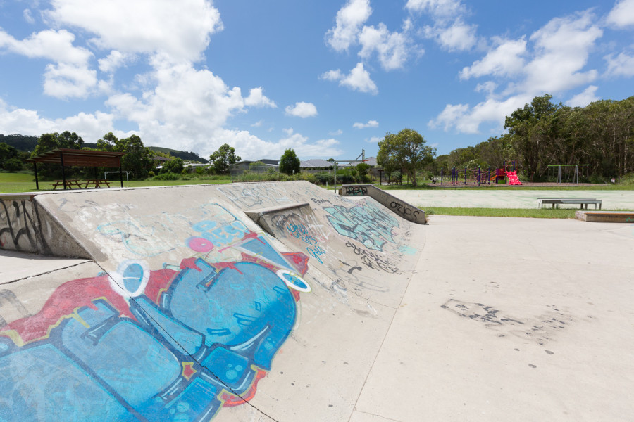 Suffolk Park Skatepark